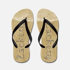 Zackery Seashells Flip Flops