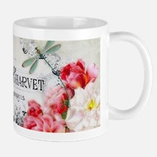 Peacock and roses Mugs