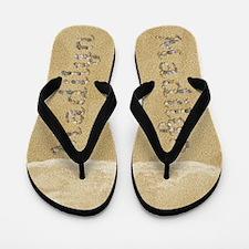 Madilyn Seashells Flip Flops