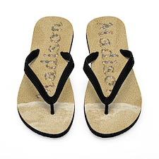 Madison Seashells Flip Flops