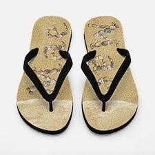 Mae Seashells Flip Flops