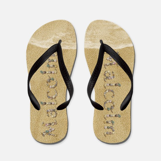 Malcolm Seashells Flip Flops
