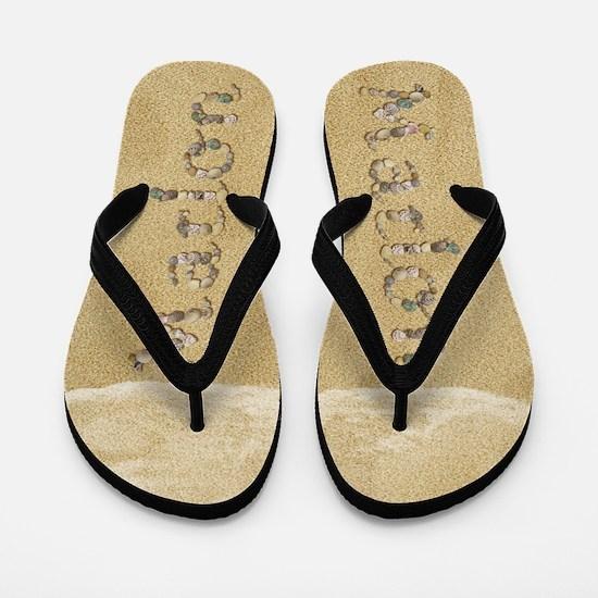 Marlon Seashells Flip Flops
