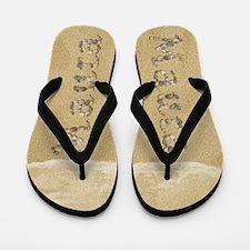 Maura Seashells Flip Flops