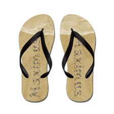 Maximus Seashells Flip Flops