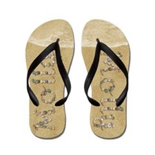 Molly Seashells Flip Flops