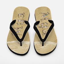 Mya Seashells Flip Flops