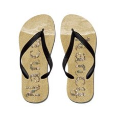 Nancy Seashells Flip Flops