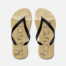 Nancy Seashells Flip Flops