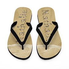 Nathalie Seashells Flip Flops