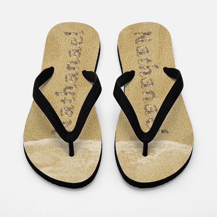 Nathanael Seashells Flip Flops