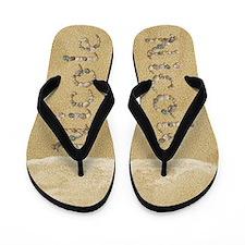 Nicole Seashells Flip Flops