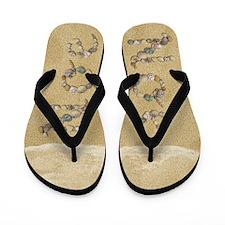 Noe Seashells Flip Flops