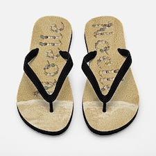 Noelle Seashells Flip Flops