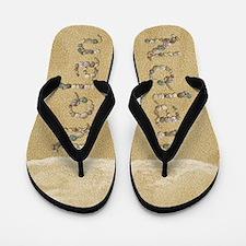 Nolan Seashells Flip Flops