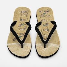 Nora Seashells Flip Flops
