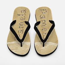Pamela Seashells Flip Flops