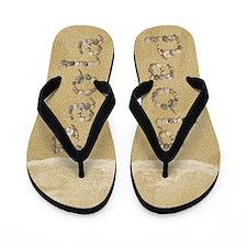 Paola Seashells Flip Flops