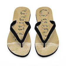 Quinn Seashells Flip Flops