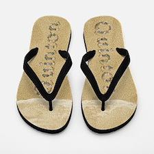 Quinton Seashells Flip Flops