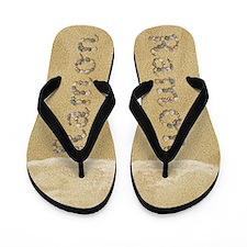 Ramon Seashells Flip Flops