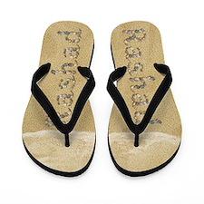 Rashad Seashells Flip Flops