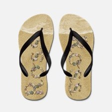 Ross Seashells Flip Flops