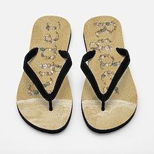 Ryder Seashells Flip Flops