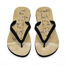 Jadyn Seashells Flip Flops