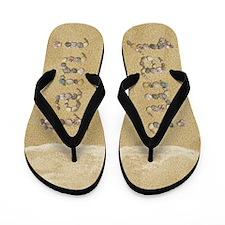 Jami Seashells Flip Flops