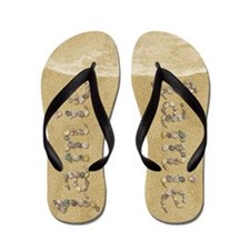 Jamie Seashells Flip Flops