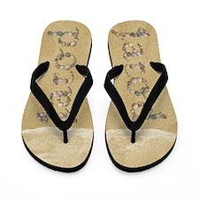 Jarod Seashells Flip Flops