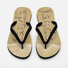 Jayda Seashells Flip Flops