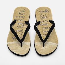 Jaylin Seashells Flip Flops