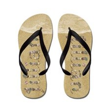 Jillian Seashells Flip Flops