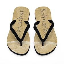 Johnathan Seashells Flip Flops