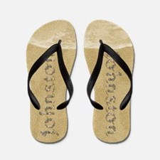 Johnston Seashells Flip Flops