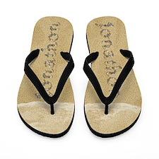 Jonathon Seashells Flip Flops