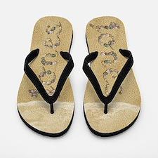 Jones Seashells Flip Flops
