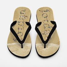Jordyn Seashells Flip Flops
