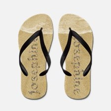 Josephine Seashells Flip Flops