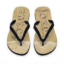 Josue Seashells Flip Flops