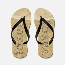 Josue Seashells Flip Flops