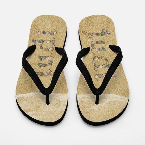 Judi Seashells Flip Flops