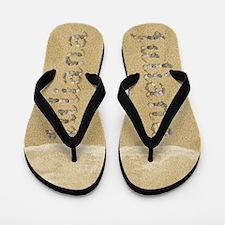 Juliana Seashells Flip Flops