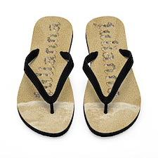 Julianna Seashells Flip Flops