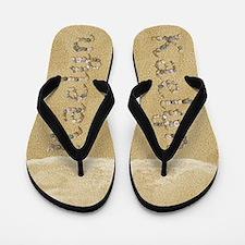 Kaelyn Seashells Flip Flops