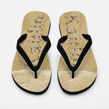 Kaitlin Seashells Flip Flops