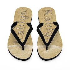 Kaitlyn Seashells Flip Flops