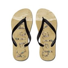 Kaleb Seashells Flip Flops